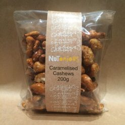 Nutorious Caramelised Cashews 200g
