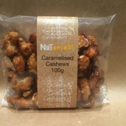 Nutorious Caramelised Cashews 100g
