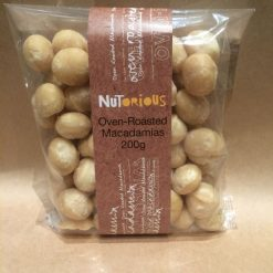 Nutorious Oven Roasted Macadamias 200g