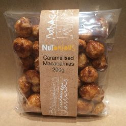 Nutorious Caramelised Macadamias 200g