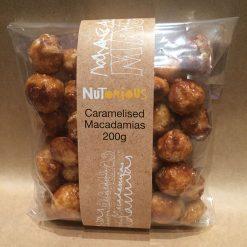 Nutorious Caramelised Macadamias 200g