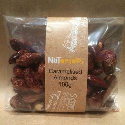 Nutorious Caramelised Almonds 100g