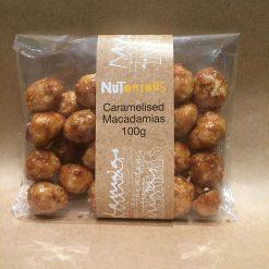 Nutorious Caramelised Macadamias 100g