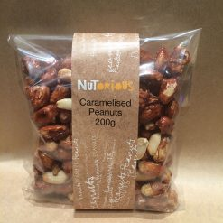 Nutorious Caramelised Peanuts 200g