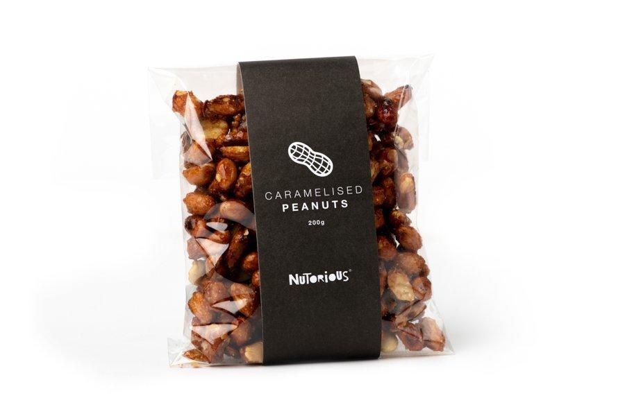 Nutorious Caramelised Peanuts