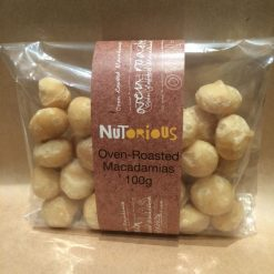 Nutorious Oven Roasted Macadamias 100g