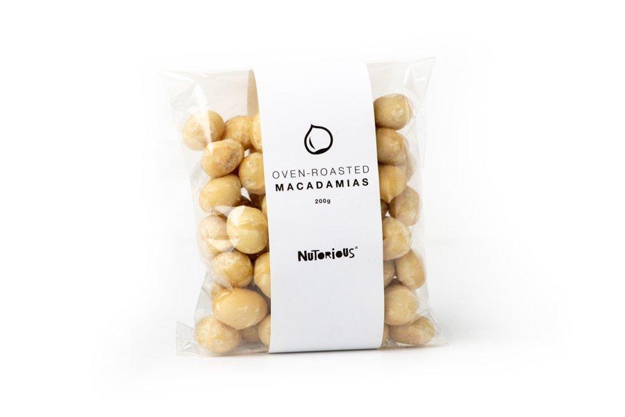 Nutorious Caramelised Macadamia